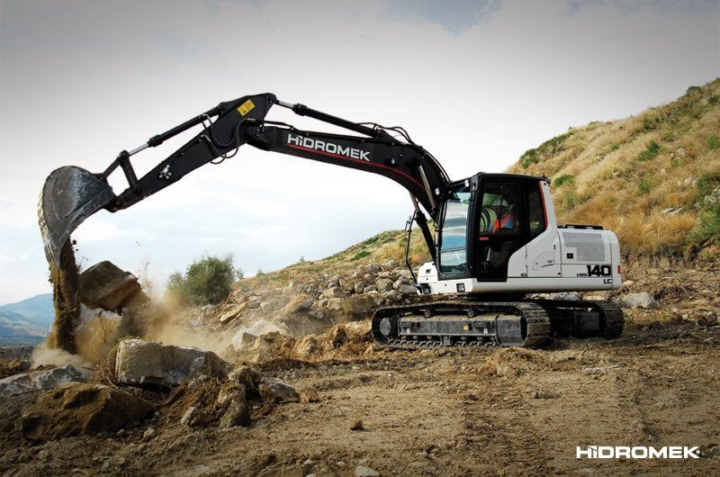 Hidromek HMK 140 LC