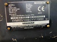 Maquinaria de ocasión - Yanmar SV 100