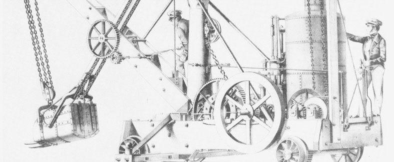 La revolución de la excavadora mecánica