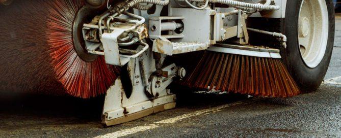 Barredoras y baldeadoras para limpieza urbana