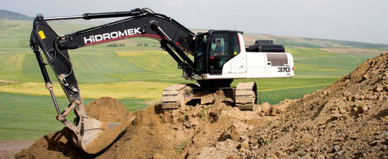 Excavadoras sobre cadenas Hidromek