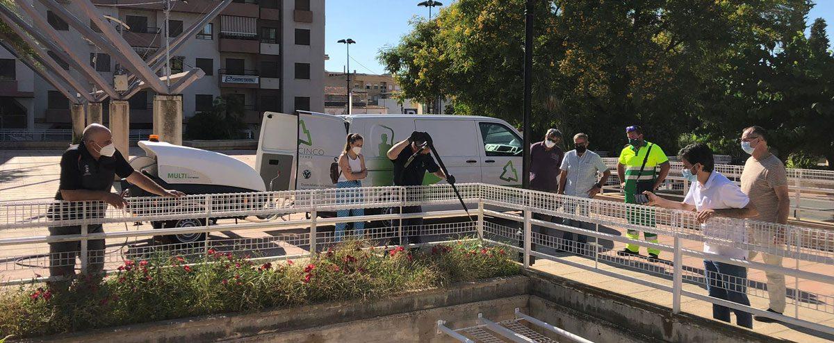 Heatweed Multi S: La solución definitiva para Limpieza Urbana y Zonas Verdes